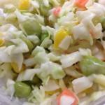 5種野菜のまぜまぜコールスローサラダを食べた【ファミマ】