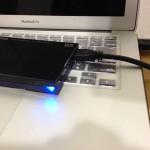 USB3.0の外付けHDDの暴力的な転送スピードに腰を抜かした。
