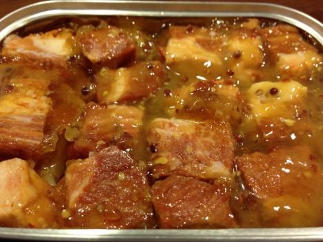 缶つま★レストラン 厚切りベーコンのハニーマスタード味-中味2