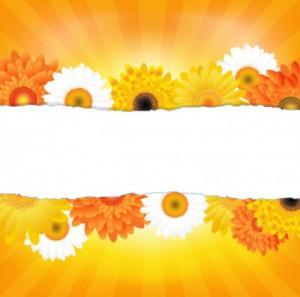 生花-無料ベクター素材11