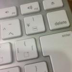 Macで半角バックスラッシュ(\)を打つ方法
