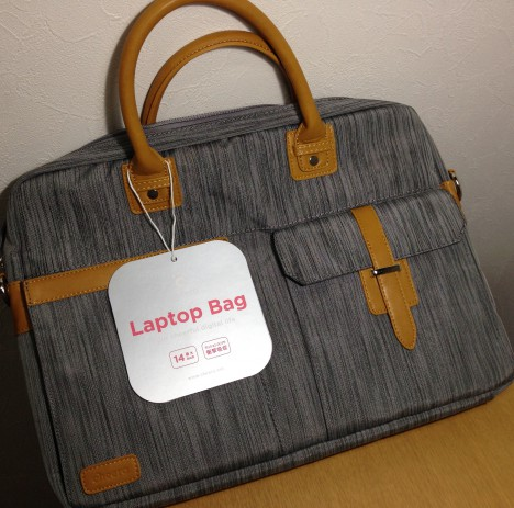 cheero Laptop PC Bag CLASSY-到着