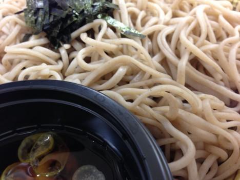 セブンイレブン-ざる蕎麦(ノリ)